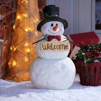 Welcome Snowman | Kirklands