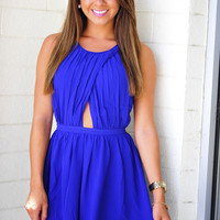 With An Open Heart Dress: Royal Blue | Hope's