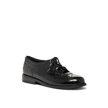 Lace Up Oxford Flats