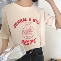Cereal and Milk T-Shirt