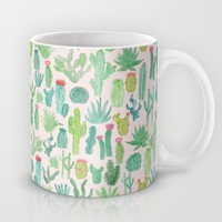 Cactus Mug by Abby Galloway | Society6