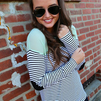 Can't Go Wrong {Sage + Stripes}