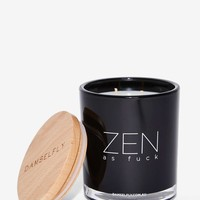 Damselfly Good Vibes Only Double-Wick Candle