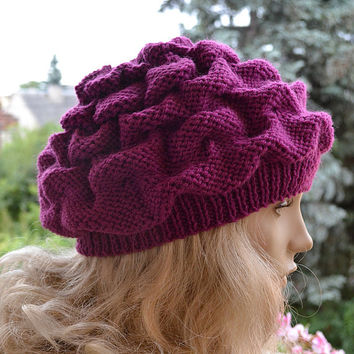 Women's Hat Winter Women Hat Slouchy Beanie Slouchy Hat Winter Hat Slouch Beanie Knit Winter Hats Women Slouchy Beanie