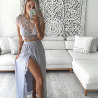 Maria Two-Piece Gown