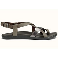 Women's 'Upena Sandal in Charcoal & Pewter by Olukai