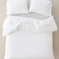 T-Shirt Jersey Comforter - White | Urban Outfitters