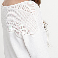 Roxy Daisies Kiss Sweater at PacSun.com
