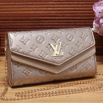 LV Women Shopping Leather Fashion Satchel Shoulder Bag Crossbody