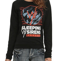 Sleeping With Sirens Madness Girls Pullover Top 2XL