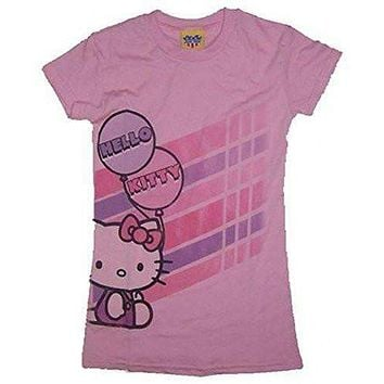 Junk Food Hello Kitty Balloon Girls T-Shirt