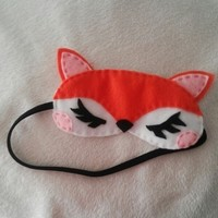 Fox sleep mask