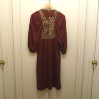 1950s Vicky Vaughn Prairie Dress