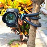 Mini Flexible Octopus Mobile Tripod With Phone Holder Adapter for iPhone X Smartphone DSLR Camera Nikon Canon Gopro Hero