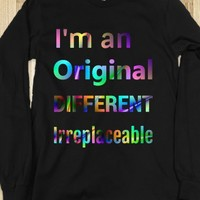 I'm an Original Different Irreplaceable Rainbow - Connected Universe