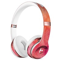 Pink 971 Absorbed Watercolor Texture Full-Body Skin Kit for the Beats by Dre Solo 3 Wireless Headphones