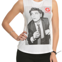Gerard Way Photo Girls Muscle Top