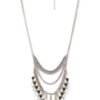 Beaded Coin Necklace