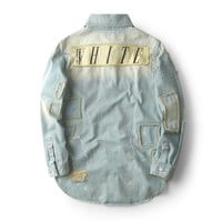 Denim Shirt Jacket [47755132940]