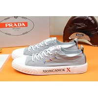 prada men fashion boots fashionable casual leather breathable sneakers running shoes 78