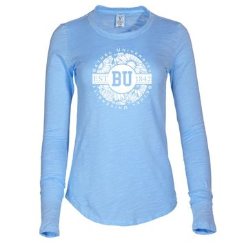 NCAA Bethel University Wildcats - AA00003 Women's Long Sleeve Slub Tee Shirt