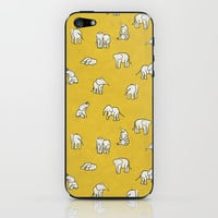 indian baby elephants iPhone & iPod Skin by Estelle F