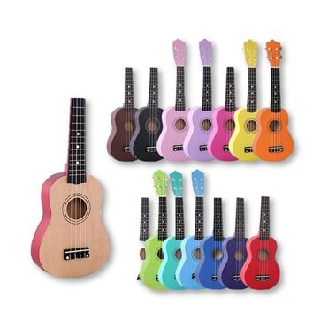 Ukulele For Kids In 15 Colors!