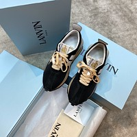 LANVIN  Fashion Men Women's Casual Running Sport Shoes Sneakers Slipper Sandals High Heels Shoes