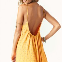 SLIP CAMI DRESS