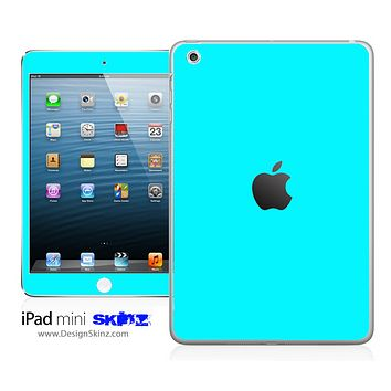 Solid Turquoise iPad Skin
