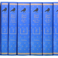 Harry Potter Ravenclaw Collection, Set of 7, Fiction Books