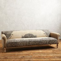"Dhurrie Sofa by Anthropologie in Sand Size: 101""w Furniture"