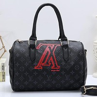 Louis Vuitton LV Women Fashion Leather Tote Handbag Crossbody Shoulder Bag