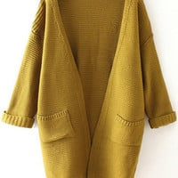Yellow Cardigan