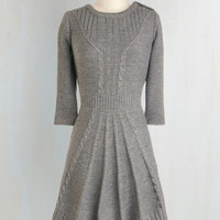 Short Length 3 Sweater Dress Warm Cider Dress