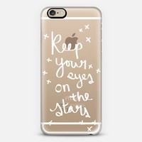 Keep Your Eyes on the Stars Transparent Case iPhone 6s case by RylieJaiden | Casetify