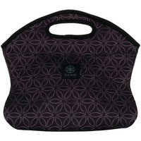 GAIAM 31498 Black Flower of Life Lunch Clutch