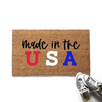 Made in the USA Doormat
