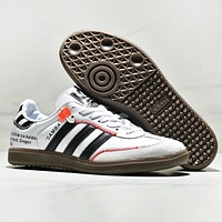 Adidas Samba OG Fashion New Women Men Sports Leisure Running Shoes White