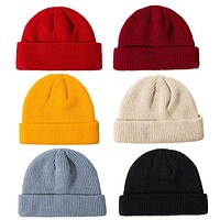 Knit Fisherman Beanie