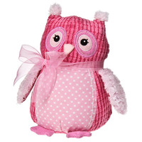 Awareness Owl: Supporting The Breast Cancer Research Foundation - Mary Meyer Stuffed Toys