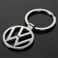 Hot Sale Fashion Metal Car Logo Key Rings Keyring Key Chain  for Volkswagen VW  Car Styling Key Holder