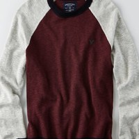 AEO Men's Raglan Baseball Sweater