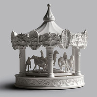 Merry-Go-Round Clock by Haoshi Design for  - Free Shipping