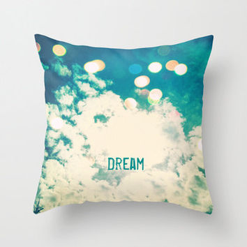 Dream Indoor and Outdoor Throw Pillows