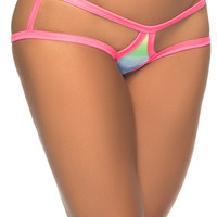 Micro Cage Back Panty