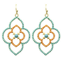 Adorn by LuLu- Coral Moroccan Earring