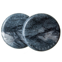 Black Line Jasper Plugs (3mm-25mm)