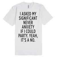 Significant Never-Unisex White T-Shirt