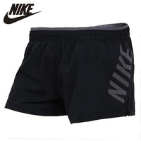 NIKE Original New Arrival 2018 Trainning & Exercise Shorts Womens Breathable Quick Dry Comfortable Support Sports Shorts